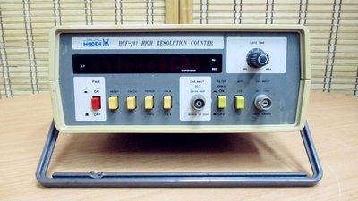 康榮科技二手儀器領導廠商HOODI HCF-201 1.3GHz High Resolution Counter計頻器