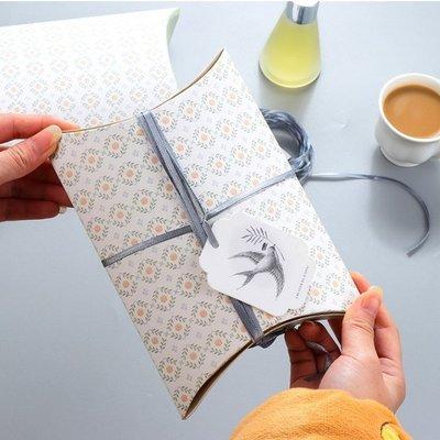 清新小碎花 折疊型紙盒 禮物盒 禮品盒-艾發現