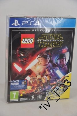 全新 PS4 LEGO Star Wars: Force Awakens (行貨限定版)- 連星球大戰 星戰 X-Wing 樂高 Figure