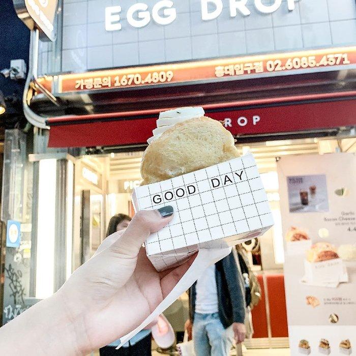 【berry_lin107營業中】韓版網紅厚蛋三明治紙盒吐司包裝面包打包盒餐包盒吐司紙托