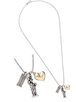 ☆青兒小公主☆MARC JACOBS L V設計師 Charm Necklaces (I LOVE NEW YORK)