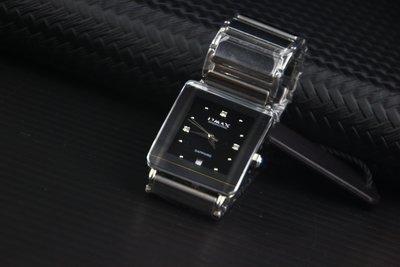 OMAX頂級水晶鏡面sapphire不鏽鋼殼+鎢鋼時尚防水石英錶!比雷達超值~鎢鋼錶