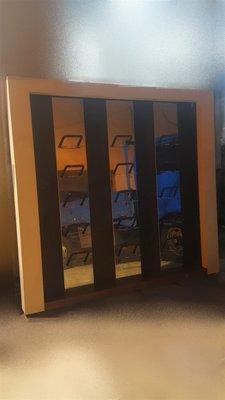 樂居二手家具 D0129EJJ 白色球鞋展示架 收納櫃 展示櫃 置物櫃 書架 仿古家具 全新中古傢俱家電 台北桃園新竹