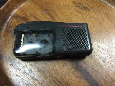 OLYMPUS 卡帶式 隨身聽 錄音機 黑色 (s927) 使用迷你卡帶