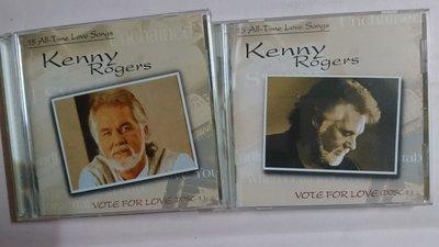 【鳳姐嚴選二手唱片】 Kenny Rogers 肯尼羅傑斯 / VOTE FOR LOVE (雙CD)