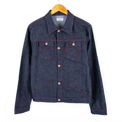 【品牌競區】Big Train Jeans / 原色 / 丹寧 / 牛仔外套 / L號 ~ COC35