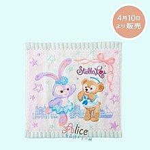 ☆愛莉詩☆2017日本迪士尼海洋館新人物-Stella Lou 史黛拉兔小毛巾