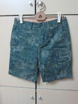 衣市藍~GAP the lived-in short 休閒短褲 (W29~73cm~175/72A~) (200424)