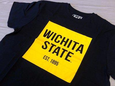 JFK e5 衛奇塔州立大學 Wichita State University 黑/LOGO配色 size:M NCAA