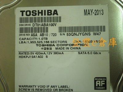 【登豐e倉庫】 Y403 Toshiba DT01ABA100V 1TB SATA3 監控硬碟