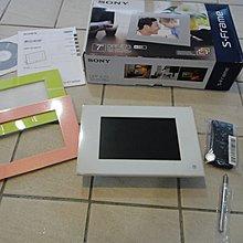 SONY DPF-C700/DPF-E73 7吋 黑色/白色數位相框 家人相片秀出來首選 二擇一 另售飛利浦.創見