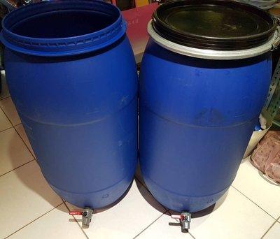 150公升 開蓋 塑膠桶  儲水桶 萬用桶 廚餘桶 堆肥桶 化學桶 水桶 空桶 水龍頭 酵素桶 酵素 150L