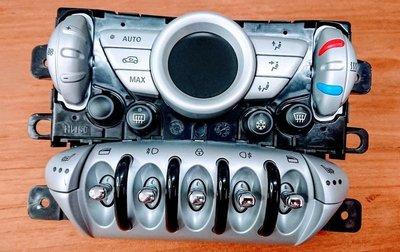 MINI R56 LCI COOPER S小改款原廠冷氣面板 冷氣電腦 大燈開關 中控面板 電動窗開關 電熱椅按鍵