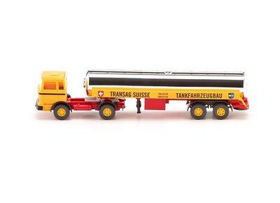 傑仲(有發票) 博蘭 公司貨 WIKING LPG truck with semi-trailer 080599 HO