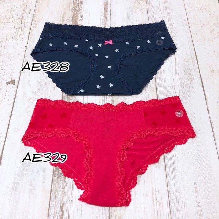Maple麋鹿小舖 American Eagle * AE  蕾絲低腰小褲褲 * ( 現貨2款 )