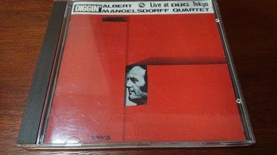 DIGGIN' Albert Mangelsdorff Quartet 超級經典發燒錄音盤1971live at DUG,Tokyo三盲鼠CD早期西德小字版如新