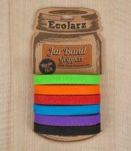 【激安殿堂】EcoJarz 止滑矽膠環 『三色』(開罐 開瓶器 Silicone Jar Band Gripper)