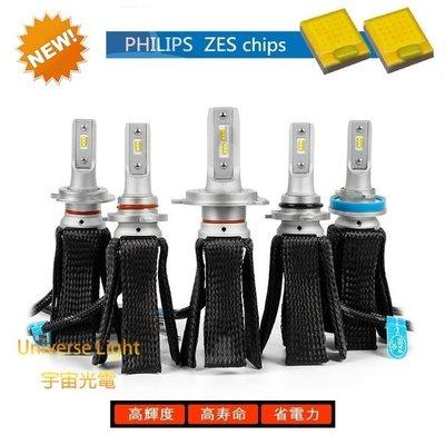 飛利浦 ZES 5S PLUS H4/HS1/H7/H11/9005/9006/9012 LED 頭燈 大燈 汽車 機車