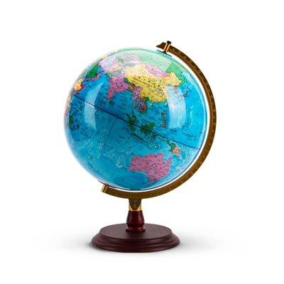 地球儀北斗ar地球儀教學版兒童學生用大號世界辦公室家居家擺設擺件32cm中號高清帶燈光臺燈地圖中學生高中生小號哆啦A珍