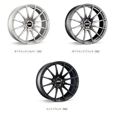 DJD19071804 日本BBS FS 鍛造鋁圈 19吋 依當月報價為準