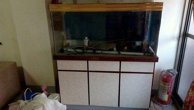 """下殺!出清!!@""""魚缸,家裡的水族館,122x46x高度145.5公分"""