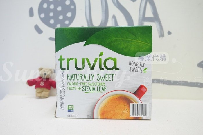 【Sunny Buy】◎現貨◎ Truvia 代糖 400包一盒 stevia leaf 甜菊萃取