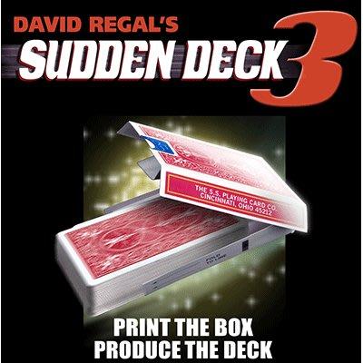 [魔術魂道具Shop]原廠正版魔術~~爆點牌盒3~~Sudden Deck 3 by David Regal