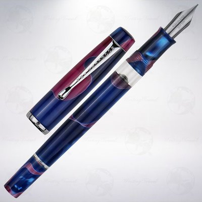 美國 鯰魚 Noodlers Konrad Acrylic Flex 彈性尖鋼筆: 天寧島寶藏