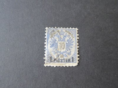 【雲品】奧地利Austria offices in Turkey 1888 Sc 17 FU 庫號#64987