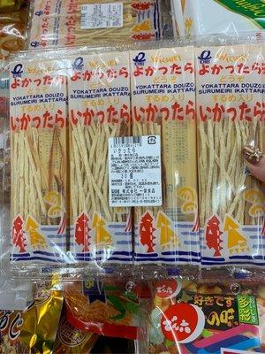 愛買JAPAN❤日本ICHIEI 一榮 鱈魚香絲 30袋入  鱈魚絲 魷魚絲 現貨 過年好零嘴