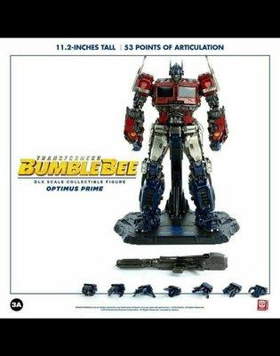 全新 3A Three A DLX 變形金剛 大黃蜂 Bumblebee 柯博文 Optimus Prime