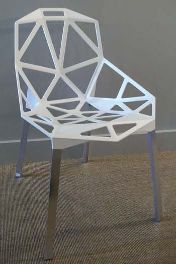 【 一張椅子 】 出清自取3000元 鋁合金 Magis Chair One 復刻版