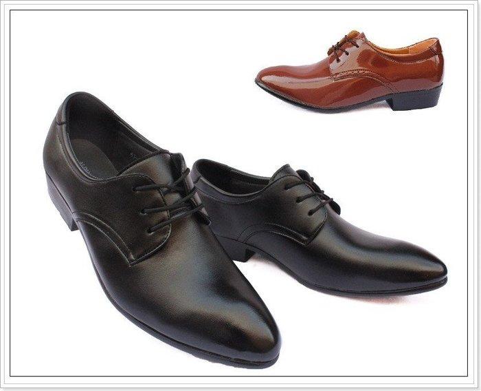 【B.STAR】《ZC005》加大尺碼不加價 韓流作風 繫帶 尖頭皮鞋 商務 休閒 英倫風 共兩色 任選兩雙運費