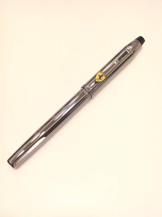 cross 高仕 法拉利亮鉻鋼珠筆