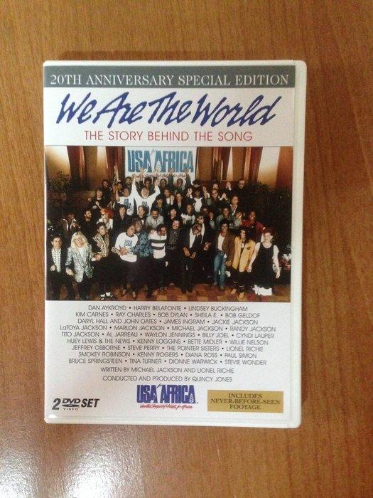 (全新已拆封)  We are the world DVD  MICHAEL JACKSON 麥可傑克森