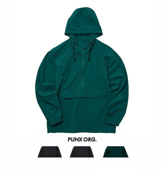 【 PUNX 】UNITED ATHLE UA 10OZ 棉花狀尼龍 連帽防風外套上衣 (單層)