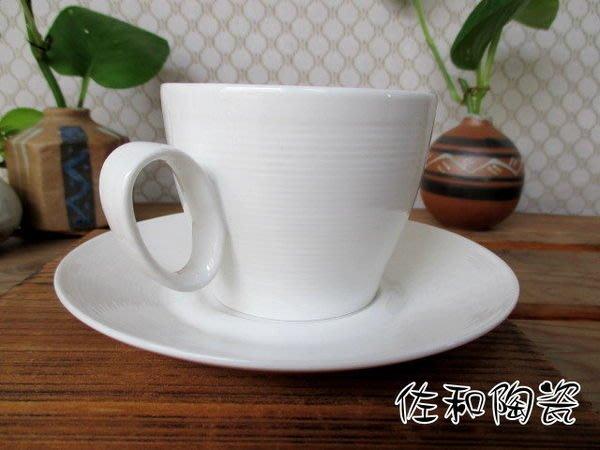 ~佐和陶瓷餐具~【82HS-B010漢斯紋東方杯組】咖啡杯盤組/拿鐵杯/花茶杯/茶杯