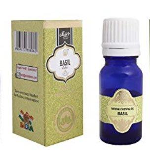[綺異館]印度精油 蘿勒 10ml JAIN'S BASIL 另售印度皂 印度香