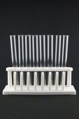 ◇GIDI 儀器◇ PP試管架組-8孔8柱*1個+試管A組合 另有售其它規格,塑膠試管架 比色管架 木製試管架 軟木塞