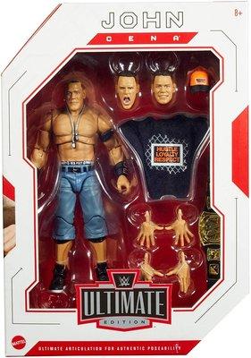 [美國瘋潮]正版WWE John Cena Ultimate Elite Edition 江西南終極精華版人偶公仔