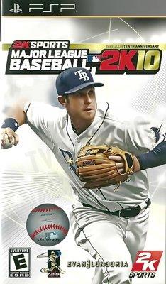 【二手遊戲】PSP 美國職棒大聯盟2K10 MLB 2K10 英文版【台中恐龍電玩】