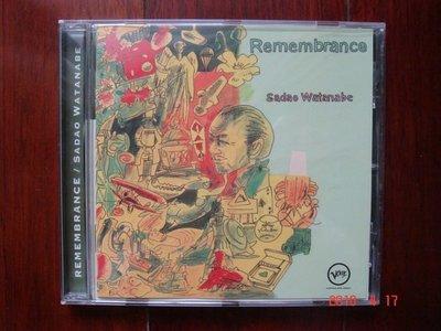 Sadao Watanabe / Remembrance【渡邊貞夫 / 回憶】《進口版二手CD》