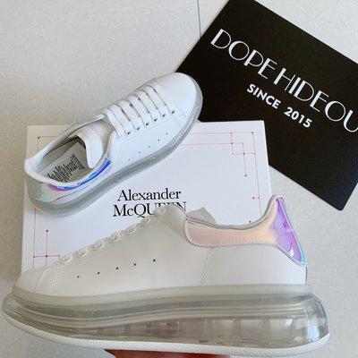 【Dope Hideout】Alexander mcqueen ss20 氣墊 炫光 小白鞋