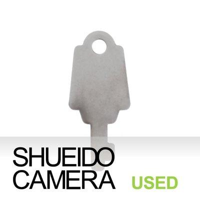 集英堂写真機【全國免運】中古美品 / 鏡頭鋁箱鑰匙 CANON NIKON MAMIYA 適用 9728