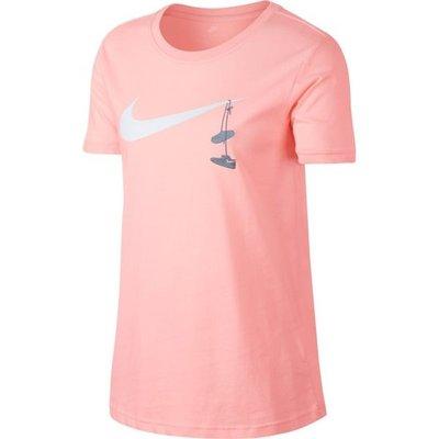 【Footwear Corner 鞋角 】Nike As NSW Tee Swoosh Shoes Pink 白勾刺繡鞋