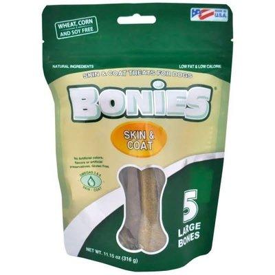 買一送三! ※台北快貨※美國原裝 Bonies Skin & Coat Treats for Dog 大狗用毛髮健康零嘴