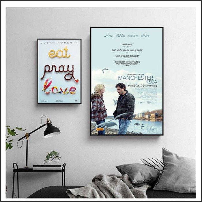 海邊的曼徹斯特 不存在的房間 享受吧!一個人的旅行 海報 電影海報 藝術微噴 掛畫 @Movie PoP 多款海報 #