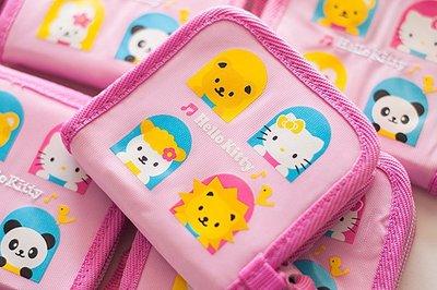【德愛走跳】 HELLO KITTY 凱蒂貓 拉鏈 零錢包 小物包 萬用包 收納包