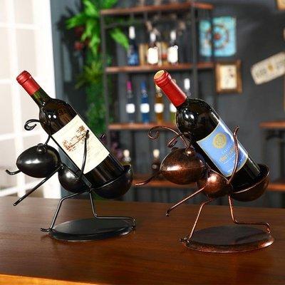 現貨/歐式紅酒架擺件吧臺創意葡萄酒瓶架客廳紅酒架裝飾品酒櫃酒架擺設   igo/海淘吧F56LO 促銷價