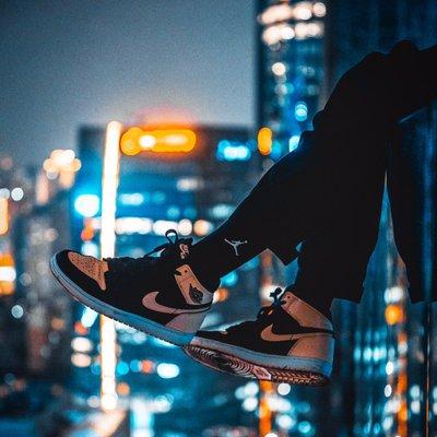 原價售 Nike Jordan 1 黑粉腳趾 Crimson Tint us11 喬丹 AJ1 湖人 芝加哥 紐約 SB